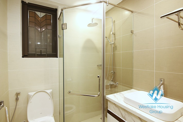 Morden and brand new 2 bedrooms apartment for rent in Van Ho 3, Hai Ba Trung, Ha Noi.