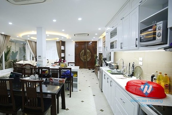 Nice house with modern style for rent in Tay Ho District