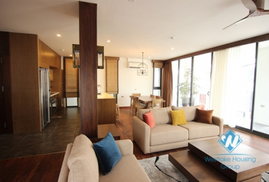 Beautiful lake view apartment for rent in Tay Ho, Hanoi
