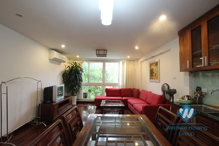 One bedrooms apartment with ful furniture for rent in Truc Bach, Ba Dinh, Ha Noi