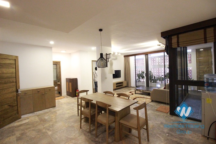 Brand new apartment in good sharpe with two bedroom for rent in Dang Thai Mai, Tay Ho, Hanoi, Vietnam