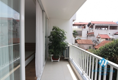 New and bright apartment with one bedroom for rent in Dang Thai Mai st, Tay Ho district