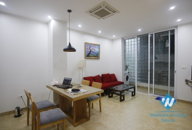 Modern one bedroom apartment for rent in Quang An ward, Tay Ho District