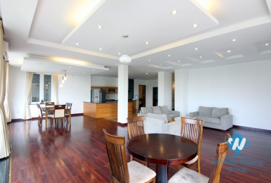 Spacious 3 bedroom rental apartment on Dang Thai Mai street, Tay Ho, Hano