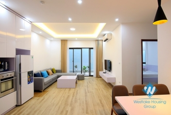 Modern apartment with small yard for rent in Au Co st, Tay Ho District