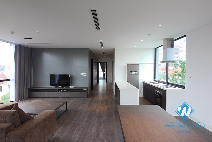 Beautiful and modern apartment for rent in To Ngoc Van st, Tay Ho district