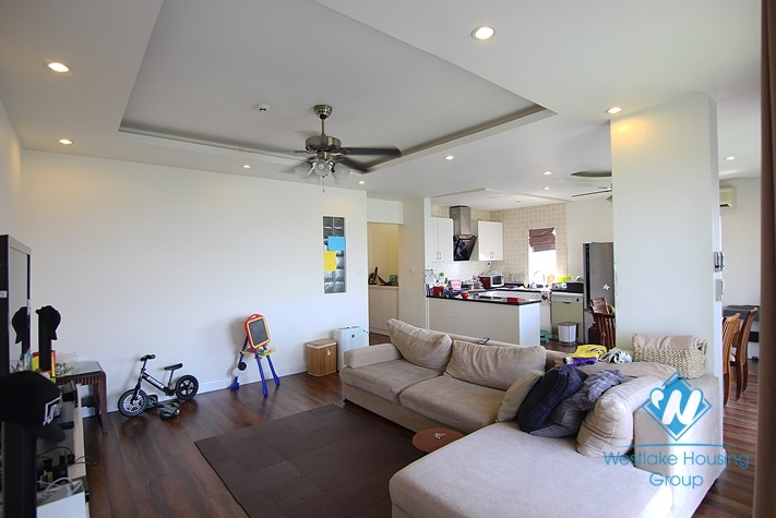Stunning Scandinavian styled apartment with lake view and 4 bedrooms for rent in Westlake Tay ho, Hanoi, Vietnam