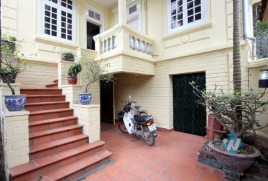 Vintage 4 bedrooms house for rent in Tay Ho, Hanoi