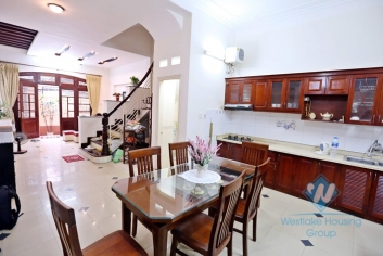 Nice house with yard for rent in Ba Dinh District, Ha Noii City