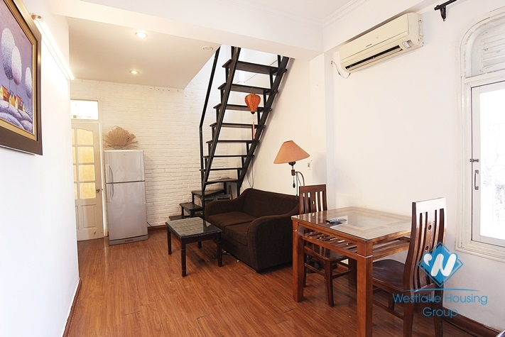Duplex Apartment for rent, Fully furnished, location in Xuan Dieu, Ha Noi - No 33/31 Xuan dieu st