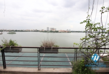 Lake view one bedroom apartment for rent in Tay Ho district