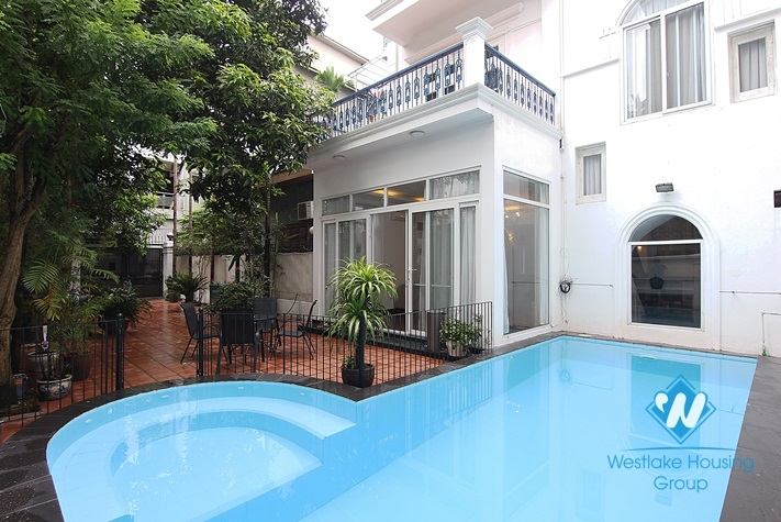 Large size garden house for rent in westlake - Tay Ho, Hanoi