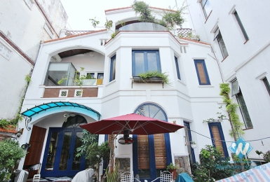 A gorgeous newly renovated villa for rent in Tay ho, Ha noi