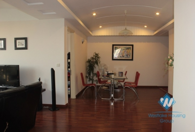 Apartment with 4 bedrooms available for lease in Ciputra, Tay Ho, Hanoi