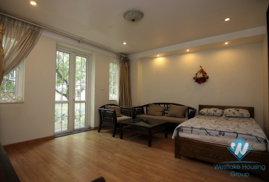 An affordable 1 bedroom apartment for rent in Truc Bach area, Ha noi
