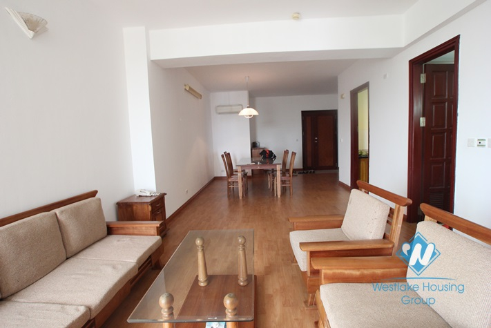 Cheap 03 bedroom apartment for rent in Ciputra, Tay Ho, Hanoi- fully furnished.