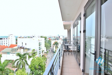 Beautiful and modern 2 bedroom apartment for rent in To ngoc van, Tay ho, Hanoi