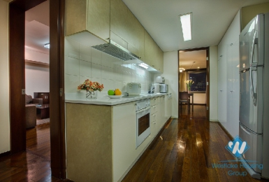 Spacious Japanese style serviced apartment for rent in Hoan Kiem, Hanoi