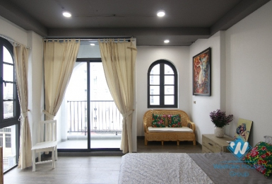 Brandnew apartment in high floor  for rent in Hoan Kiem, Hanoi.