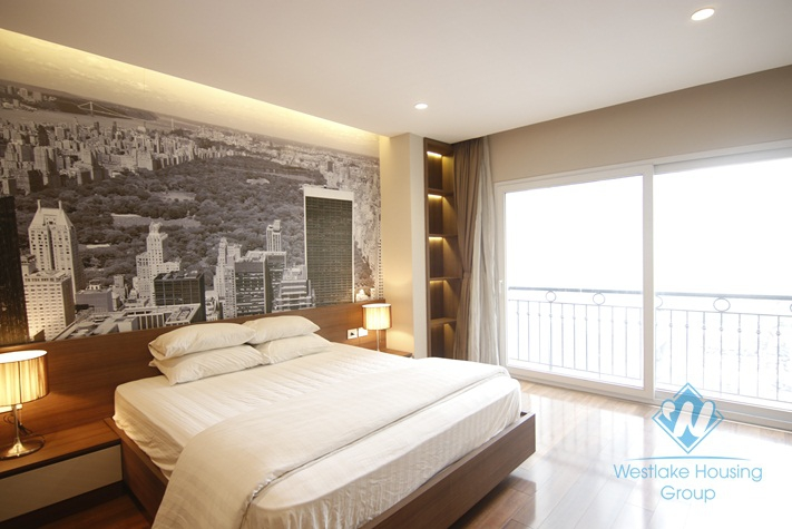 Luxury two bedrooms apartment for rent in city center, Hoan Kiem district, Ha Noi