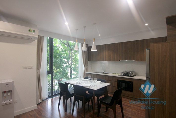 Brand new two bedrooms apartment for rent in heart of Tay Ho, Ha Noi