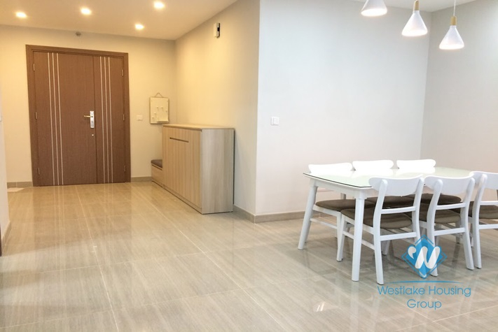 A splendid 3 bedroom apartment for rent in Ciputra Compound