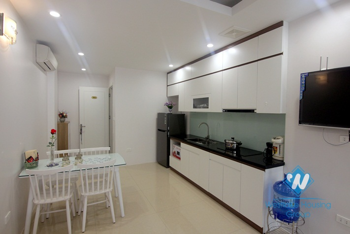 A brand new apartment with nice balcony for rent in Tay ho, Ha noi
