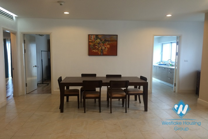 Beautiful apartment with lake view and large balcony for rent in Golden Westlake Tay Ho, Hanoi, Vietnam