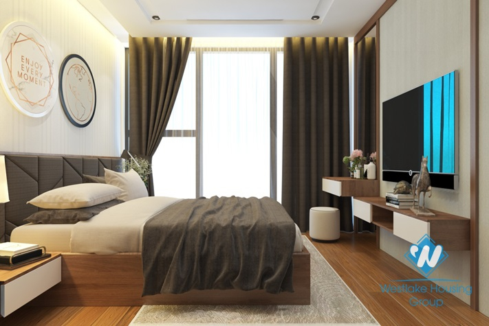 Modern style apartment for rent in Vinhome Metropolis, Ba Dinh District