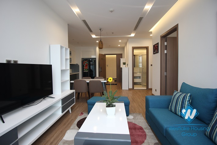 Modern furniture apartment for rent in Vinhome Metropolis, Ba Dinh District