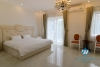 Hanoi furnished 5 bedrooms villa for let in Vinhomes Riverside with river view