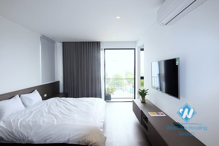 A super and brandnew 1 bedroom apartment for rent in Xuan La st, Tay Ho.