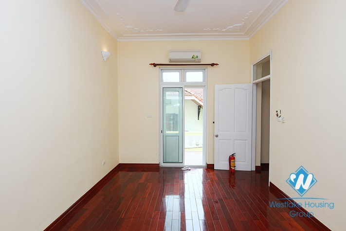 Lovely house nice nice courtyard for rent in To Ngoc Van st, Tay Ho District