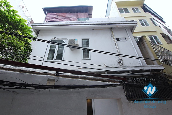 Nice house for rent in alley 111 Xuan Dieu st, Tay Ho District