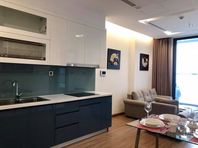 One-bedroom apartment for rent in Lieu Giai street of Ba Dinh district, Hanoi