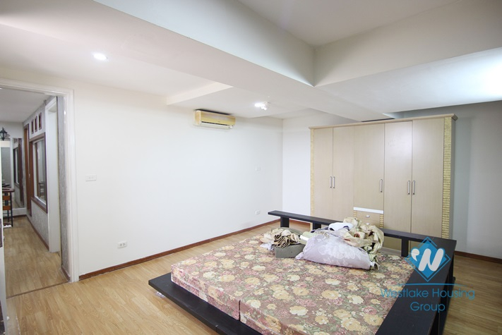 Two-floor apartment with four bedrooms in Ciputra, Tay Ho, Hanoi