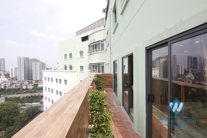 A luxurious penthouse for rent on Hoang Hoa Tham street