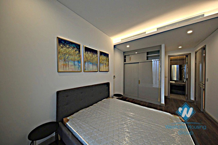High quality 2 bedrooms apartment for rent in Sun Grand building, Thuy Khue, Ba Dinh.