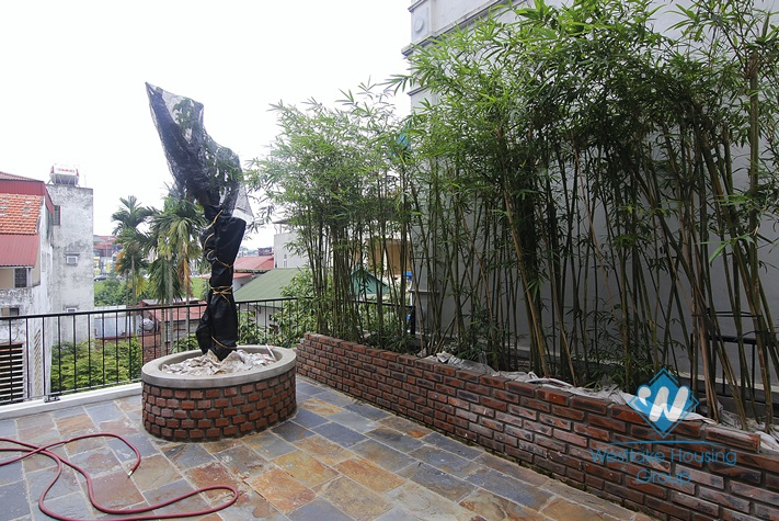 New and nice villa for rent in Ngoc Thuy street, Long Bien district, Ha Noi