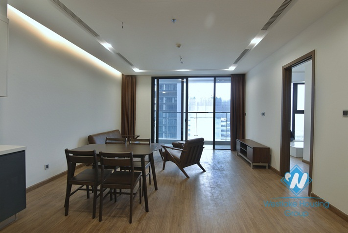 A delicate 2 bedroom apartment for rent in Vinhome Metropolis