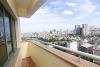 A large four-bedroom apartment with the view of the city and a lake on Lang Ha street