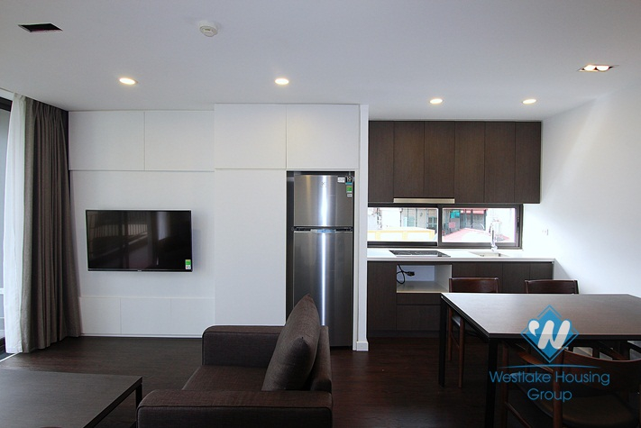 A modern 1 bedroom apartment with big balcony in To ngoc van, Tay ho
