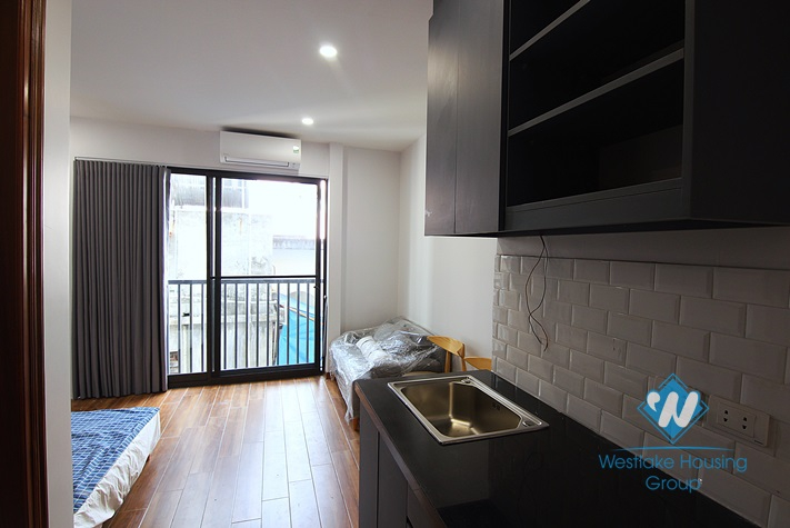 Affordable price studio for rent in Dang Thai Mai st, Tay Ho district