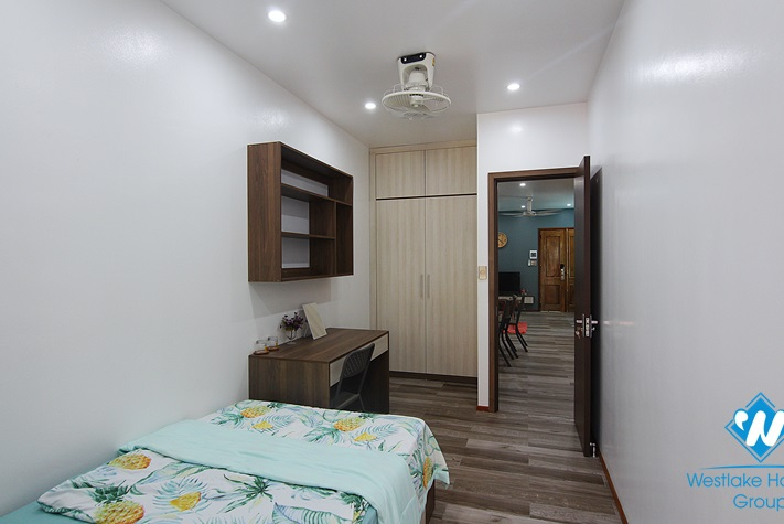 Cozy brand-new two- bedroom apartment located on Trinh Cong Son street, Tay Ho, Hanoi