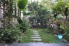 A gorgeous villa with beautiful garden for rent in Ecopark