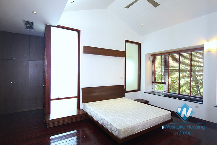 Spacious house with garden for rent in Tay Ho, Hanoi