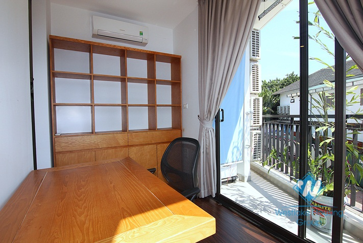 A bright open and stylish apartment for rent on Nhat Chieu street