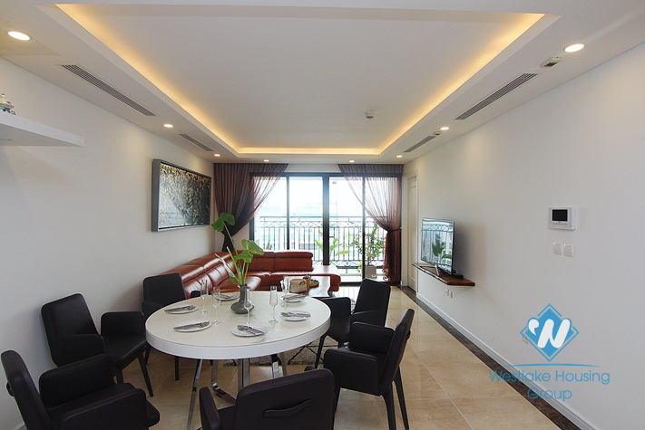 Fabulous 3 bedroom apartment for rent in D'Le Roi Soleil Tay Ho