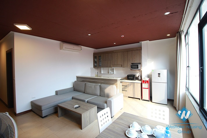 Brand new apartment with 01 bedroom for rent in Tay Ho, Hanoi