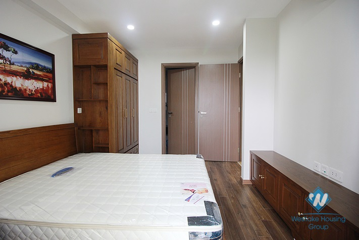 A three-bedroom apartment with brand new furniture with high quality in Ciputra, Tay Ho district